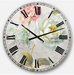 Cabin and Lodge Oversized Metal Wall Clock