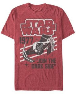 Classic Join The Dark Side Quote Short Sleeve T-Shirt