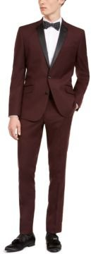 Slim-Fit Performance Stretch Burgundy Tuxedo