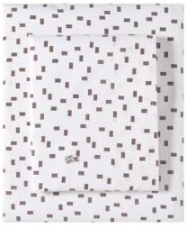 Lacoste Raster King Pillowcase Pair Bedding