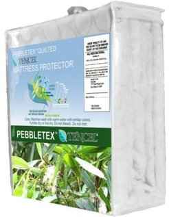 Pebbletex Tencel Twin Mattress Protector