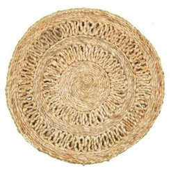 Natural Natural Jute Rotary Placemats - Set of Two