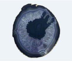 Thick Large Agate Trivet
