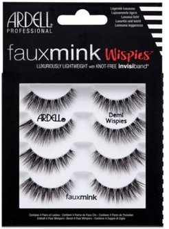 Faux Mink Lashes -Demi Wispies 4-Pack