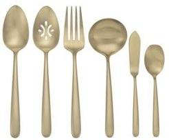 Valley Falls Dusk Champagne 6 Piece Serve Set