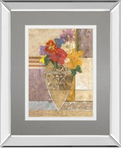 """Rose by Hollack Mirror Framed Print Wall Art, 34"""" x 40"""""""
