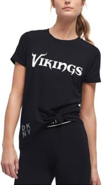 Dkny Women's Minnesota Vikings Players T-Shirt