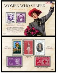 Who Shaped American History Postage Stamp Collection