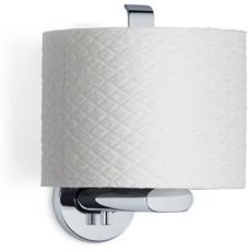 Wall Mounted Toilet Paper Holder - Vertical - Polished - Areo Bedding