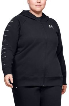 Plus Size Rival Fleece Zippered Hoodie
