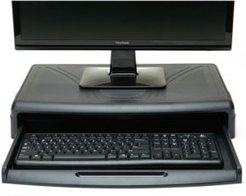 Monitor Stand with Keyboard Desk for Computer Monitor, Laptop, Pc, MacBook