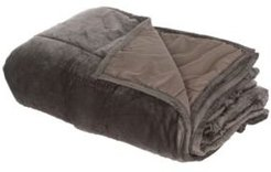 Home Comfort Plush Weighted Blanket, 10lb Bedding