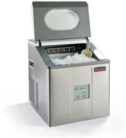 Portable Ice Maker Stainless Steel with Ice Scoop