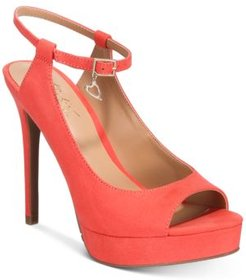 Chhloe Platform Slingback Sandals, Created for Macy's Women's Shoes
