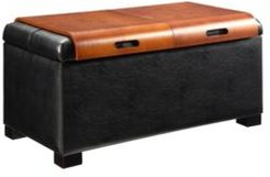 Designs4Comfort Storage Ottoman With Trays
