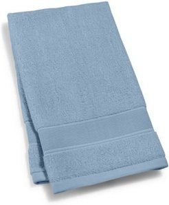 """Sanders Antimicrobial Cotton Solid 16"""" x 30"""" Hand Towel Bedding"""