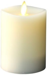"""4.5"""" Led Pillar Candle with Moving Flame Technology"""