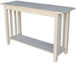 Mission Console or Sofa Table