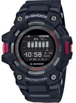Connected Digital Power Trainer Black Resin Strap Watch 49.3mm