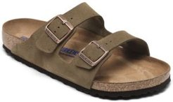 Arizona Suede Leather Soft Footbed Casual Sandals from Finish Line