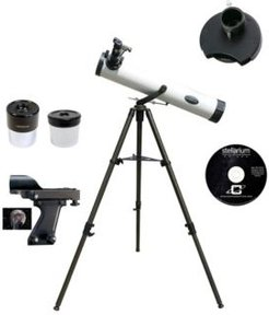 800mm x 80mm Astronomical Reflector Telescope Kit with Color Filter Wheel
