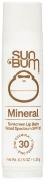 Mineral Sunscreen Lip Balm Spf 30