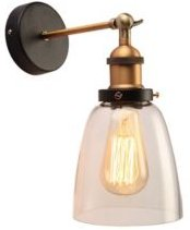 """Barbara 11"""" 1-Light Indoor Wall Sconce with Light Kit"""