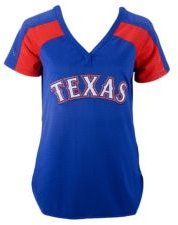 Authentic Apparel Texas Rangers Women's League Diva T-Shirt