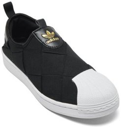 Originals Women's Superstar Slip On Casual Sneakers from Finish Line