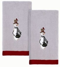Country Friends Fingertip Towels, 2 Piece Bedding
