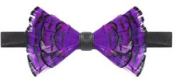 Feather Pre-Tied Bow Tie
