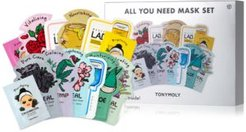 13-Pc. All You Need Mask Set