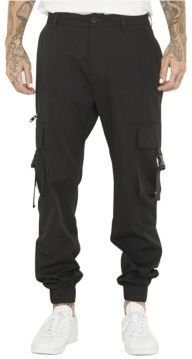 Utility Pant with Fixed Waistband and Elastic Cuff