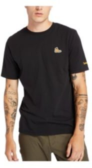 Mens Ss Archive Boot Logo Tee