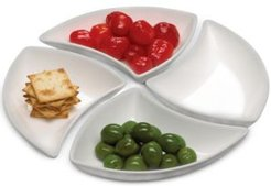 New Wave Set of 4 Appetizer Dishes