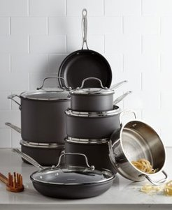 Chef's Classic Hard-Anodized 14-Pc. Cookware Set