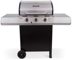 Oversize Char-Broil Thermos 3-Burner Cart Grill