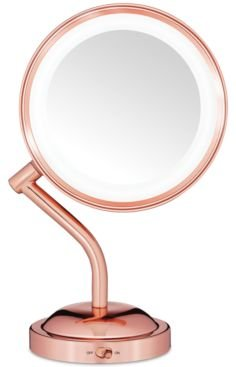 Reflection Rose Gold Light Mirror Bedding