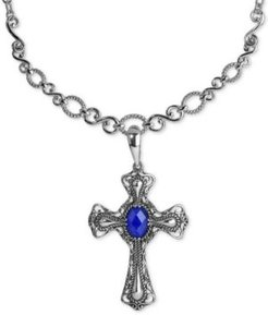 Lapis Lazuli Doublet Pendant Necklace (5-3/4 ct. t.w.) in Sterling Silver
