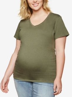 Plus Size Ruched T-Shirt