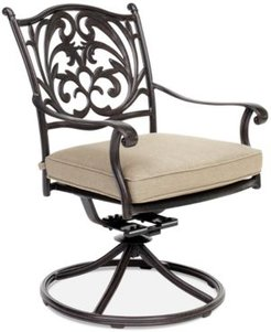 Chateau Aluminum Outdoor Dining Swivel Rocker with Sunbrella Cushion, Created for Macy's
