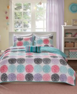 Carly 3-Pc. Twin/Twin Xl Reversible Coverlet Set Bedding