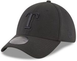 Texas Rangers Blackout 39THIRTY Cap