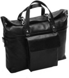 """Edgefield 17"""" Roll Top Laptop Briefcase"""