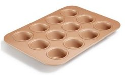 Nonstick Champagne 12-Cup Muffin Pan, Created for Macy's