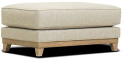 "Closeout! Brackley 46"" Fabric Ottoman, Created for Macy's"