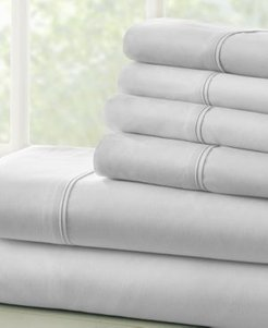 Solids in Style by The Home Collection 4 Piece Bed Sheet Set, Twin Xl Bedding