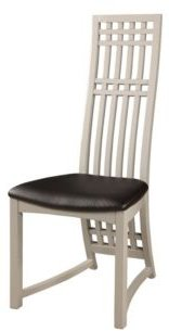 Bella Luna High Back Lacquer Side Chair (Set of 2)