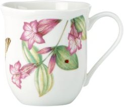 Set of 4 Assorted Butterfly Meadow Bloom Mugs