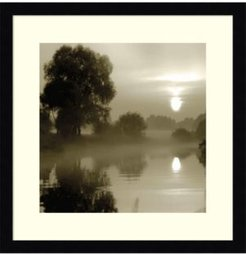 Reflections Of The Sun Framed Art Print